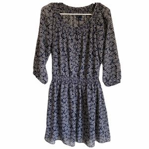 Gap   Lightweight Blue Design Dress